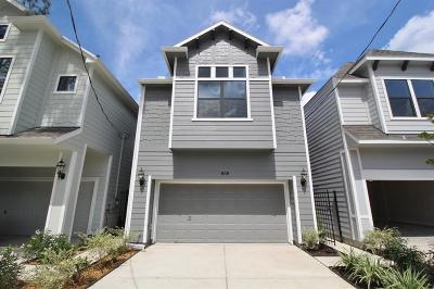 Houston Single Family Home For Sale: 829 W 20th Street