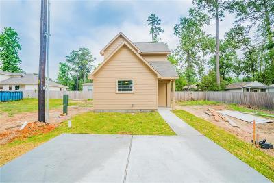 Montgomery Single Family Home For Sale: 16642 E Hammon