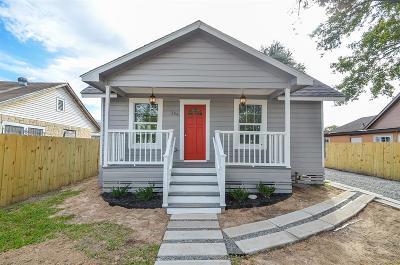 Houston Single Family Home For Sale: 334 N Burr Street
