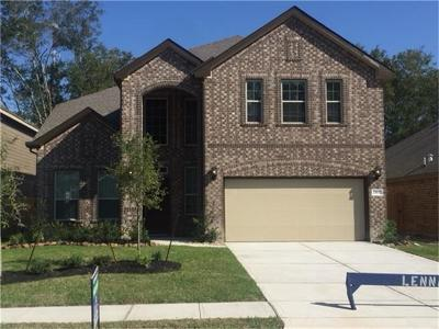 New Caney Single Family Home For Sale: 23637 Alder Branch Lane