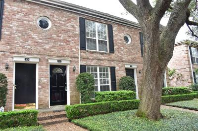 Houston TX Condo/Townhouse For Sale: $160,000