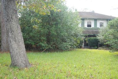 Conroe TX Single Family Home For Sale: $80,000
