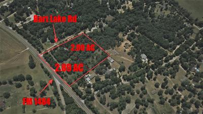 Conroe Residential Lots & Land For Sale: 15203 Bart Lake Road