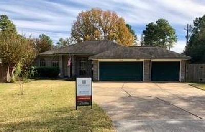 Cypress Single Family Home Pending: 16002 Jast Drive