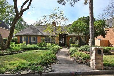 Kingwood Single Family Home For Sale: 3307 Woodland View Drive