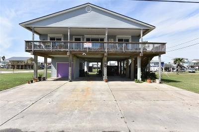 Galveston Single Family Home For Sale: 21600 Zachary Dr