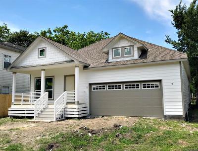 Houston Single Family Home For Sale: 1801 Hardy Street