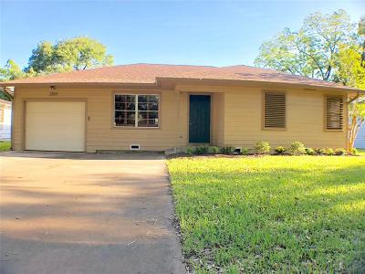 Bay City Single Family Home For Sale: 2501 Marguerite Street