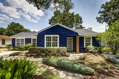 Houston Single Family Home For Sale: 1126 Woodhill Road