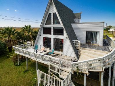 Jamaica Beach Single Family Home For Sale: 16721 Captain Hook