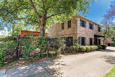 Houston Condo/Townhouse For Sale: 6007 Inwood Drive #A