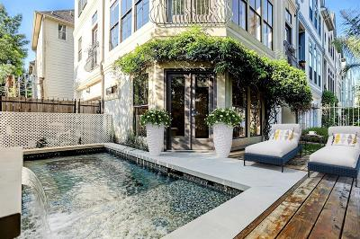 Houston Condo/Townhouse For Sale: 802 Malone Street #A