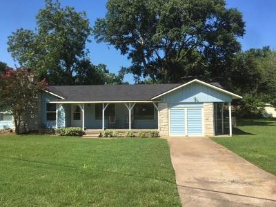 Sealy Single Family Home For Sale: 1417 S Circle Street