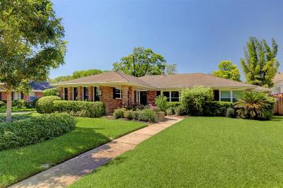 Houston Single Family Home For Sale: 5636 Overbrook Lane