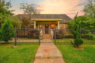 Houston Single Family Home For Sale: 2408 Cortlandt Street