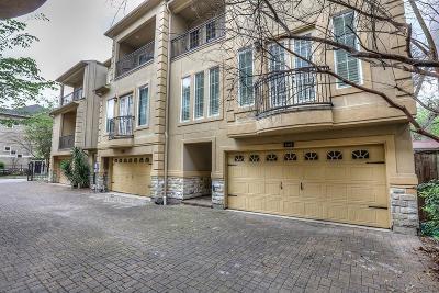 Houston Condo/Townhouse For Sale: 4119 Barnes Street