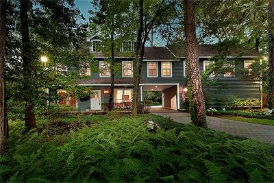 The Woodlands Single Family Home For Sale: 7 E Sunlit Forest Drive