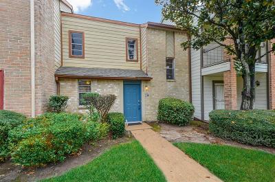 Houston Condo/Townhouse For Sale: 7934 Grow Lane