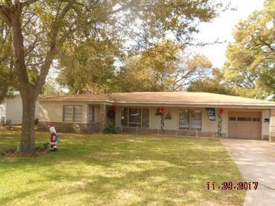 Hitchcock Single Family Home For Sale: 6714 W Bayou Drive
