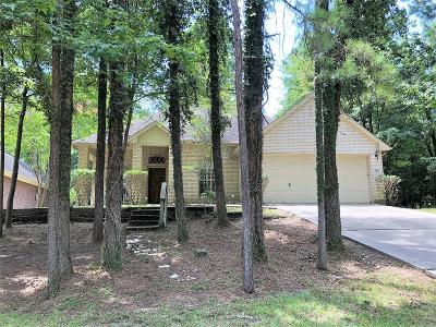 Montgomery Single Family Home For Sale: 3235 Woodchuck