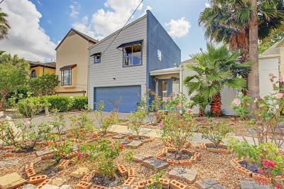 Houston Single Family Home For Sale: 815 Birdsall Street