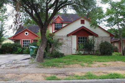 Houston Single Family Home For Sale: 11511 Chariot Drive