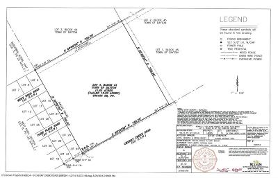 Dayton Residential Lots & Land For Sale: Cherry Creek Road