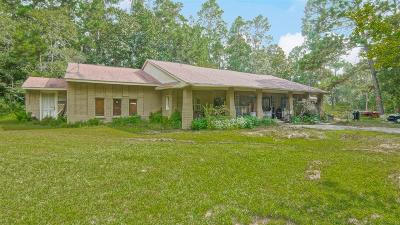 Conroe Single Family Home For Sale: 18350 Country Place Drive