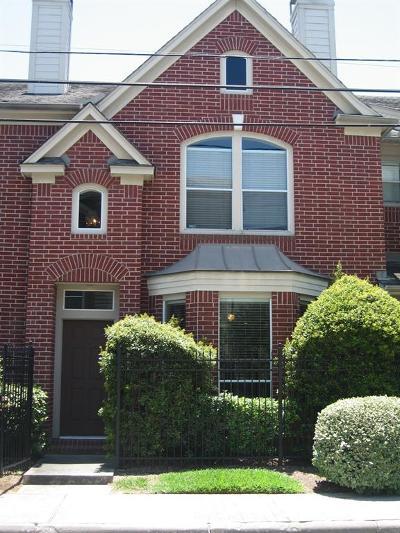 Harris County Rental For Rent: 2104 Gillette Street