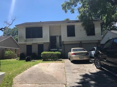 Houston TX Single Family Home For Sale: $93,600