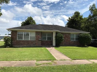 Rosenberg Single Family Home For Sale: 1103 Macarthur Street