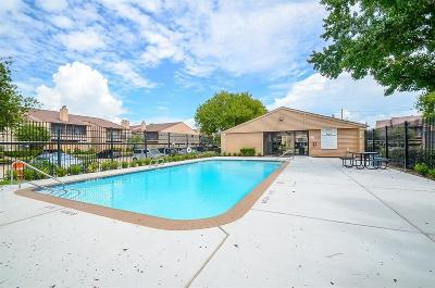 Houston TX Condo/Townhouse For Sale: $73,900