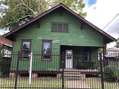 Houston Single Family Home For Sale: 3411 White Oak Drive