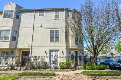 Houston Condo/Townhouse For Sale: 105 Detering Street