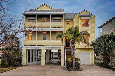 Galveston Single Family Home For Sale: 3515 Cove Lane