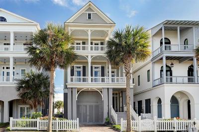Galveston Single Family Home For Sale: 2553 E Seaside Drive