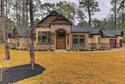Conroe Single Family Home For Sale: 2 Creek Forest Lane