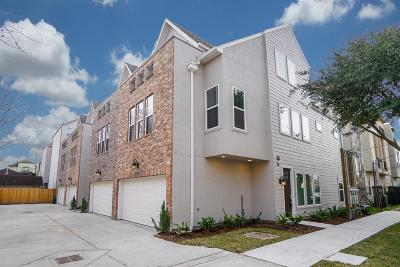 Houston Condo/Townhouse For Sale: 1709 Ovid Street
