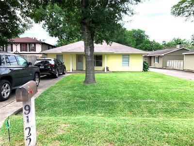 Houston Single Family Home For Sale: 9122 Vogue Lane