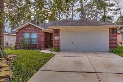Conroe Single Family Home For Sale: 222 W Misty Dawn Drive