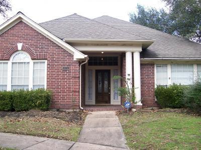 Seabrook Single Family Home For Sale: 2626 De Four Trace