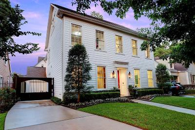 Houston Single Family Home For Sale: 2223 North Boulevard