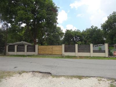 Harris County Residential Lots & Land For Sale: 2122 Dewalt Street