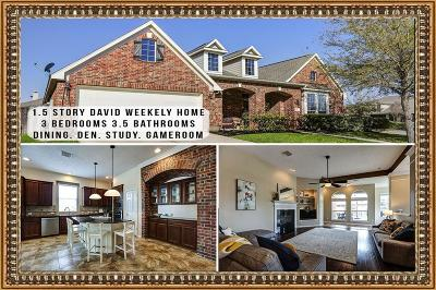 Humble Single Family Home For Sale: 14627 Wood Thorn Court
