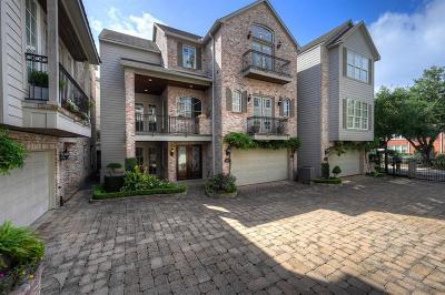 Houston Single Family Home For Sale: 1901 Calumet #E