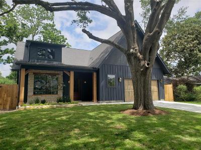 Houston Single Family Home For Sale: 1606 Althea Drive