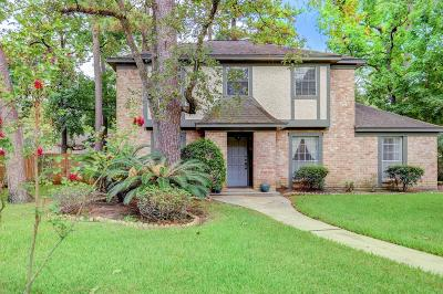 Houston Single Family Home For Sale: 722 Romaine Lane