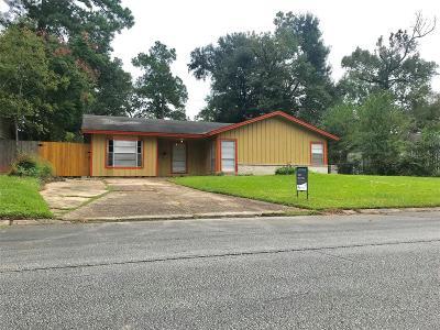 Houston TX Single Family Home For Sale: $110,000