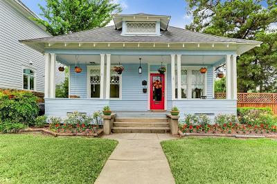 Houston Single Family Home For Sale: 1847 Cortlandt Street