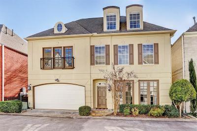 Houston Single Family Home For Sale: 3225 S Pemberton Circle Drive